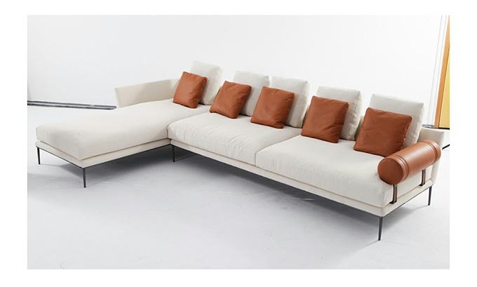 罗吉耶 现代简约转角客厅布艺沙发(Pogier Sofa)