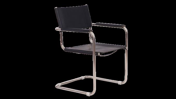 彼得 现代真皮餐椅悬臂椅(Pieter Chair)