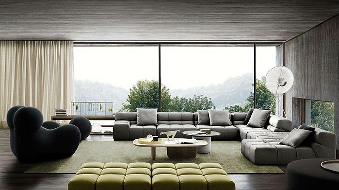 布艺沙发厂家德洛教你几种选购布艺沙发的方法