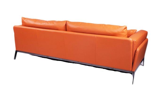 提埃波罗 现代极简客厅真皮沙发(Tiepolo Sofa)