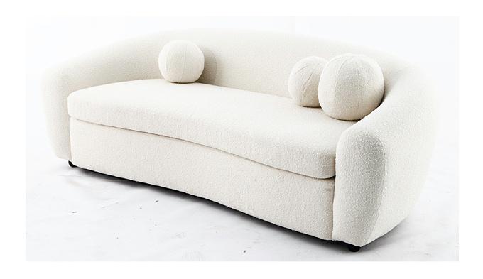 格罗 现代简约轻奢创意客厅布艺沙发(Gros Sofa)