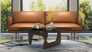 你知道怎样挑选一款真皮沙发呢