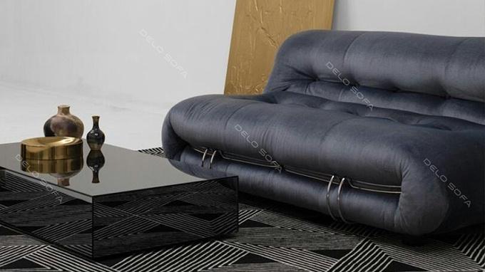哥佐利 简约风格客厅沙发中古布艺沙发(Gozzdi Sofa)